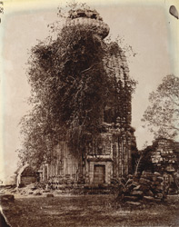 General view of Temple No. 6, Telkupi, Manbhum District.